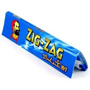 ZIG ZAG 320 Blu King Size Slim cartine 10blocchetti da 32