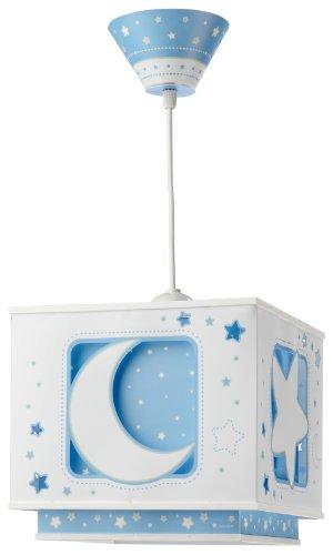 Dalber 63232T Hängeleuchte Blauer Mond Kinderzimmer Lampe Leuchte