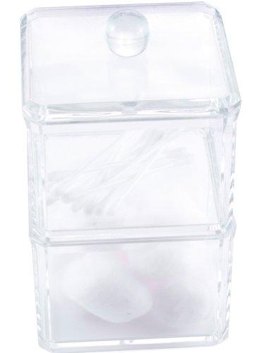Danielle - Organiseur transparent en acrylique pour articles cosmétiques
