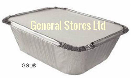 gsl-100-aluminium-foil-food-grade-storage-containers-100-lids-no2-takeaway-same-day-posting-if-order