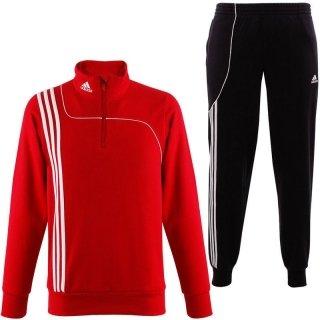 adidas Erwachsene TrainingsanzugSereno 11 Sweat Anzug, Rot, 9, V38033