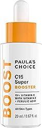 Paula's Choice C15 Super Booster für Gesicht - Anti Aging Serum mit 15% Vitamin C, E & Ferulasäure - Pigmentflecken entferner, Anti Falten & natürlichen Glow - Alle Hauttypen - 20 ml