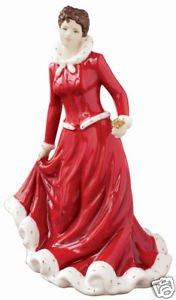 Royal Doulton Figurine annuel Festival Rose de Noël-neuf et emballé
