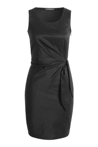 Esprit 994EO1E900 - Robe - Uni - Sans manche - Femme Noir