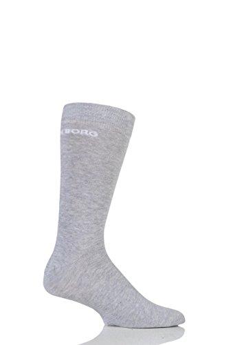 hommes-1-paire-bjorn-borg-coton-uni-chaussettes-avec-logo-gris-7-11-mens