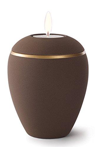 Keramik Kerzenhalter Verbrennung Asche Urne–Kaffee