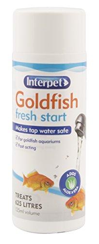Bioactive Aloe (Interpet Goldfish Fresh Start Mittel zum Behandeln und Testen von Aquarien-Wasser)