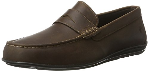 Rockport Hit the Road Penny Tq, Mocassins Homme Braun (brown 2)