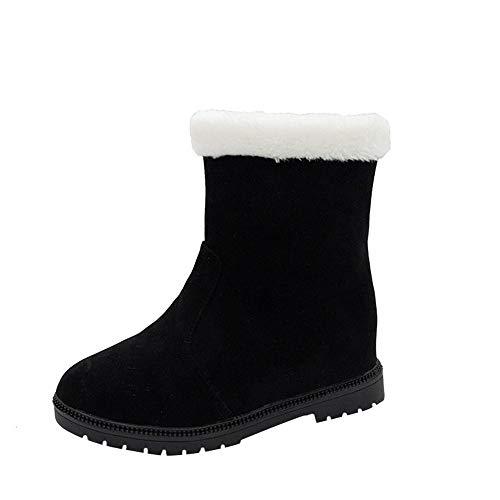 S&H-NEEDRA Winter Damenschuhe Casual Plüsch Warme Flache Stiefeletten Schneeschuhe Outdoor Schuhe