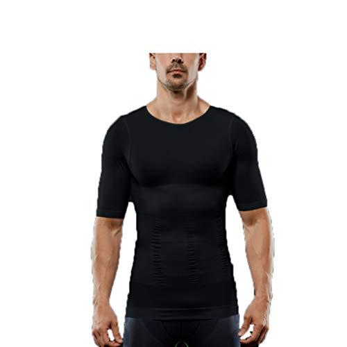 GOUNURE Männer Unterhemden Tank Top Abnehmen Body Shaper Weste Compression Shirt (Cupid Mann Kostüm)