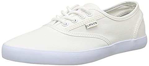 Levi's Palmdale 223122, Damen Sneakers, Weiß (50), 39 EU