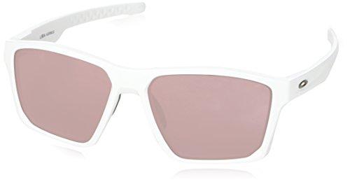 Oakley Herren Targetline 939706 Sonnenbrille, Grau (Polished White), 58