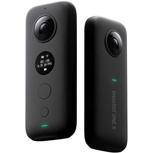 hardwrk Insta360 ONE X Edition mit Exklusiver Schutzhülle - 360 Grad Action Sport Kamera Cam für...
