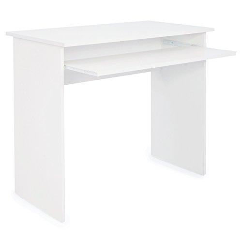 COMIFORT Mesa de Ordenador, de Estudio, Escritorio, 90x50x77 cm (Nordic)