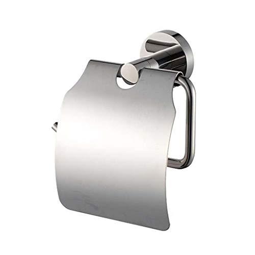 Klopapierhalter Edelstahl wandmontage Solid Wasserdicht Toilettenpapierhalter Küche Hotel Badaccessoires-Edelstahl -
