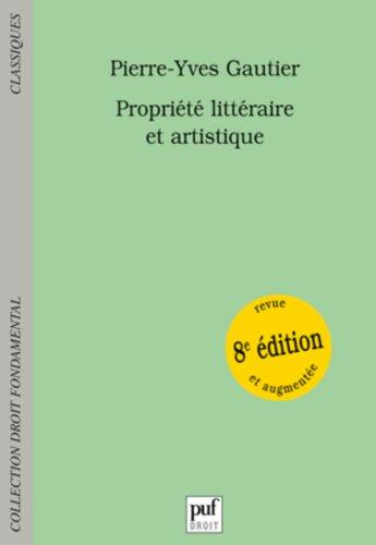Propriété littéraire et artistique par From Presses Universitaires de France - PUF