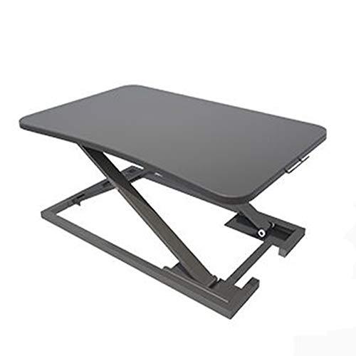 JRLnjsnjrs Multifunktion stehend Faltbare Notebook klapptisch Höhe Gas Rod verstellbar Lap Desk schlafsofa Lesung Notebook klapptisch-schwarz 73x47x6-40cm(29x19x2-16inch) -