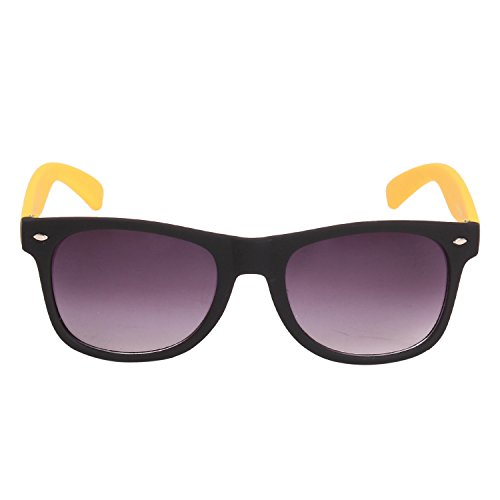 Louis Geneve Stylish & Fashionable Sunglasses for Men Wayfarer LG-SM-86-B-YELLOW-GREY  available at amazon for Rs.139