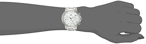 Tommy Hilfiger Women's 'CLAUDIA' Quartz Stainless Steel Casual Watch, Color Silver-Toned (Model: 1781741)