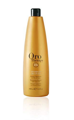 oro therapy 24k shampoing illuminant huile argan 1000 ml