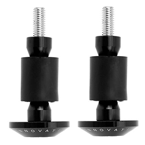 ATezi 2pcs 22mm 7/8 - Aluminium - Motorrad - Lenker Griff stecker bar endkappen mit Griff Ende stopfen -