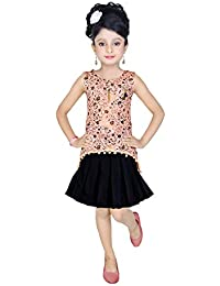e8a7b827e870 Amazon.in  Oranges - Dresses   Jumpsuits   Girls  Clothing   Accessories