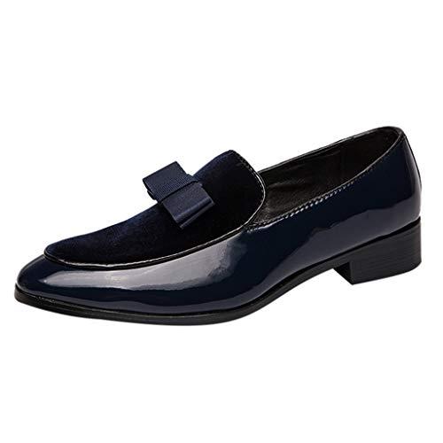 Mocassini Uomo Pelle Estivi Classic Scarpe Loafers Slip On Scarpe Le Scarpe da Uomo di Bassa Moda nel Vento Britannico Hanno Aumentato Le Scarpe da Sposa