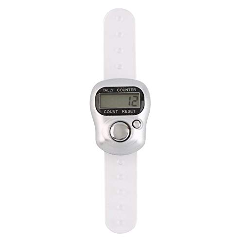 Mini Tragbare 5-stellige LCD Elektronische Digital Golf Sport Universal Finger Hand Ring Tally Counter