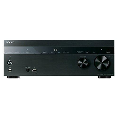 Sony STR-DN850 7.2 Kanal Receiver (4K Upscaling, 3D, 5x HDMI IN, 1x HDMI OUT, GUI, WLAN integriert, NFC, Bluetooth, AirPlay, DLNA, Internetradio, Spotify) schwarz