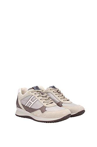 HXM1480A48081E517U Hogan Sneakers Uomo Camoscio Beige Beige
