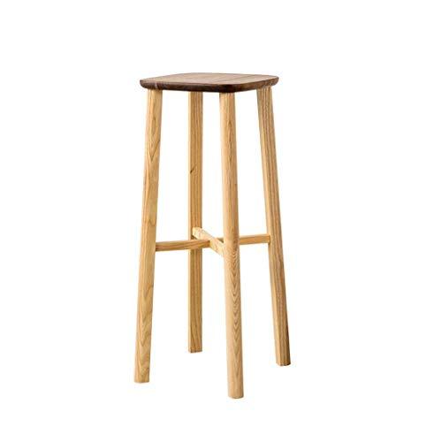 YILIAN dengzi Massivholzmöbel Nussbaum hoher Hocker niedriger Hocker hoher Hocker (größe : High) - Esszimmer Nussbaum Barhocker