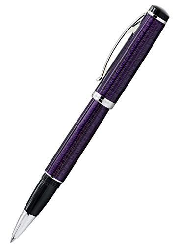 Xezo incognito viola diamante taglio penna roller a inchiostro gel (R)