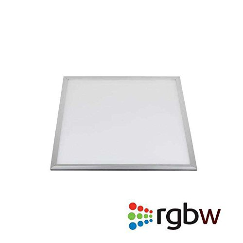 Panel LED 15W, RGB+CW, RF, 30x30cm, , Regulable