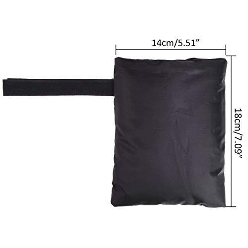 Pinji Lot de 2 Protection Robinet Extérieur Chaussettes Tissu Oxford Couverture Housse Protection Hiver pour Robinet Antigel Déchirure Vent Résistant
