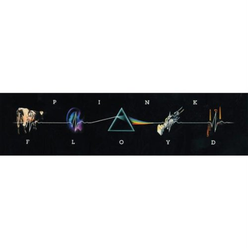 Pink Floyd–LP Collage Aufkleber (Tee Mens Collage)