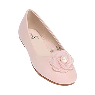 Life by Shoppers Stop Girls Casual Wear Slipon Ballerinas (Pink_32)
