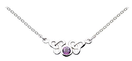 heritage-womens-sterling-silver-and-amethyst-celtic-trilogen-necklace-of-length-17-inch