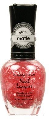 KLEANCOLOR-Pinceau Mat Vernis à ongles – Tapis Nail Polisher – Tapis Nail Lacquer Blush Rose (283) 15 ml