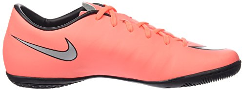 Nike Mercurial Victory V IC, Chaussures de Football Compétition Homme Orange (Bright Mango/Metallic Silver)