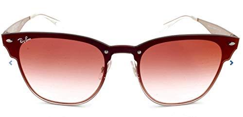 Ray-Ban Unisex-Erwachsene 0RB3576N 9039V0 47 Sonnenbrille, Brushed Copper/Cleargradientredmirrorred,