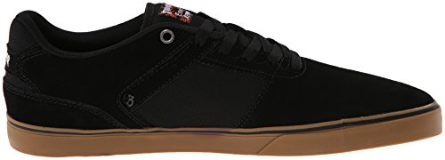 Emerica - Le Reynolds Low Vulc, Scarpe De Skateboard De Nero (black / Gum)