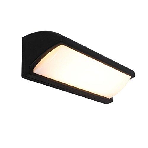Unbekannt QIQIDEDIAN Im Freien wasserdichte LED-Wandleuchte-Landhaus-Hof-Tor-Balkon-Außenlampe (Size : M) -