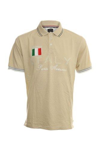 Exklusives Poloshirt von KITARO Beige