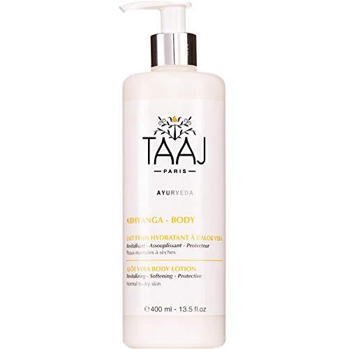 Taaj Lait Frais Hydratant à l'Aloe Vera 400 ml