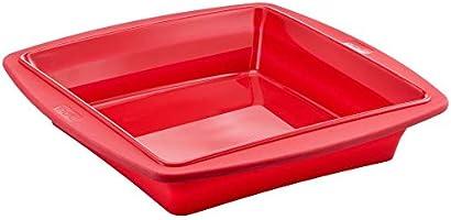 قالب مربع خبز من تيفال بروفليكس، 23 سم، 12 قسم - احمر، J4090554