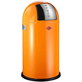 Wesco 175 831-25 Abfallsammler Pushboy Orange