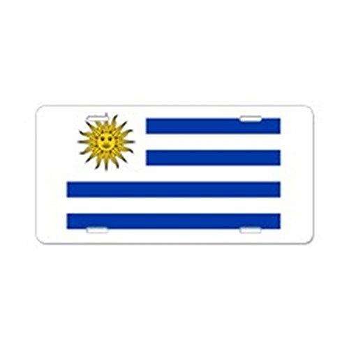cafepress-uruguay-aluminium-nummernschild-aluminium-nummernschild-vorne-nummernschild-vanity-tag