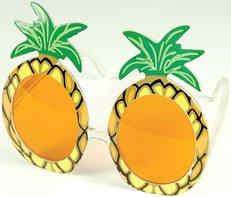 Bristol Novelty BA024 Pineapple Glasses, Unisex-Adult, Green, One Size