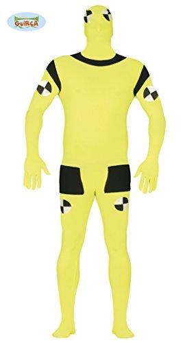 Crash Test Dummy Kostüm für Herren, (Dummies Kostüm Crash Test)