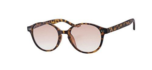 Lesebrille Sonnenbrille InFocus Modell R6800 in 3 Farben und 5 Dioptrien (2.00, Demi Lightbrown)